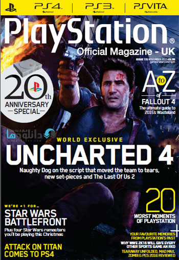 play nov2015 دانلود مجله ۲۰۱۵ Playstation Official Magazine UK – November