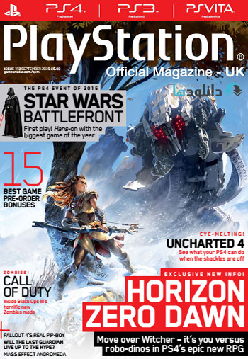 ps 2015sep دانلود مجله ۲۰۱۵ Playstation Official Magazine UK – September