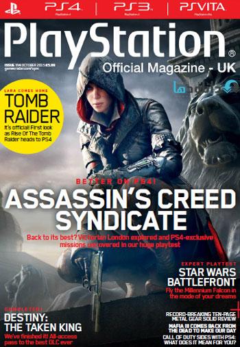 ps mag october دانلود مجله ۲۰۱۵ Playstation Official Magazine UK – October