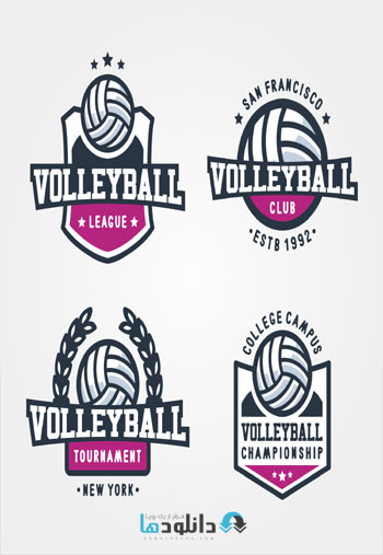 shutterstock voleyball  دانلود تصاویر وکتور  Amazing ShutterStock Volleyball Game