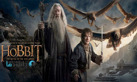 the hobbit the battle of th پشت صحنه ی ساخت جلوه های ویژه فیلم و انیمیشن ها   فیلم The Hobbit:The Battle of the Five Armies