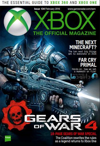 x201602 دانلود مجله رسمی ایکس باکس XBOX Official Magazine February 2016