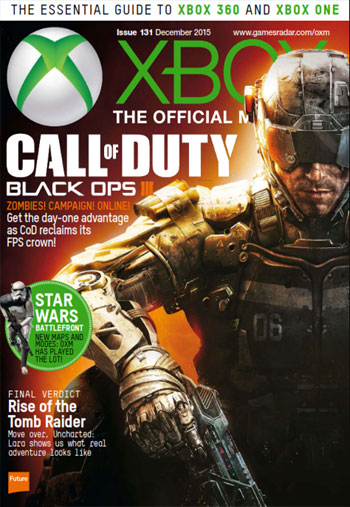 xbm dec.2015  دانلود مجله Xbox Official Magazine UK – December 2015