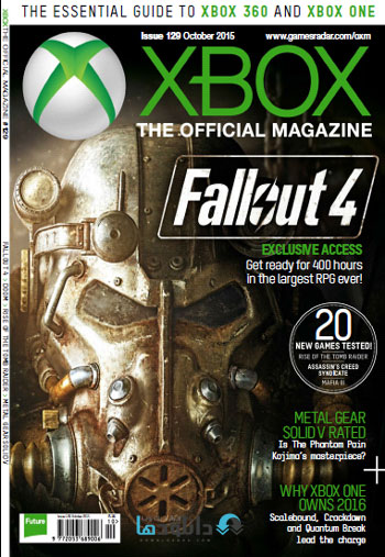 xbox mag october  دانلود مجله Xbox Official Magazine UK – October 2015