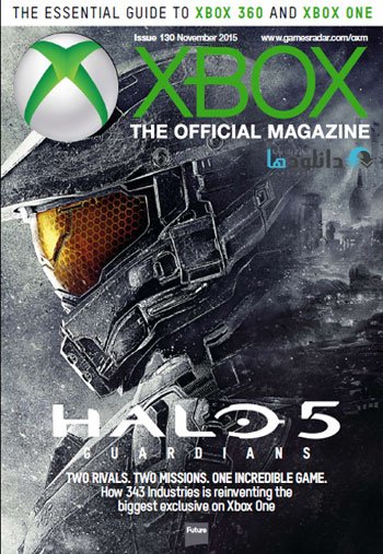 xbox nov2015  دانلود مجله Xbox Official Magazine UK – November 2015