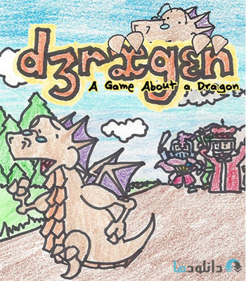 Dragon A Game About a Dragon cover %28Downloadha.com%29 دانلود بازی DRAGON A Game About a Dragon برای PC