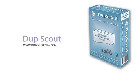 Dup Scout cover %28Downloadha.com%29 نرم افزار جستجو و حذف فایل های تکراری Dup Scout Ultimate 7.3.18