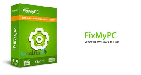 FixMyPC cover %28Downloadha.com%29 نرم افزار رفع خطاهای ویندوز TweakBit FixMyPC v1.6.8.5