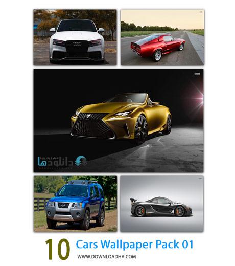 10 Cars Wallpaper Pack 01 Cover%28Downloadha.com%29 دانلود مجموعه 10 والپیپر با موضوع ماشین