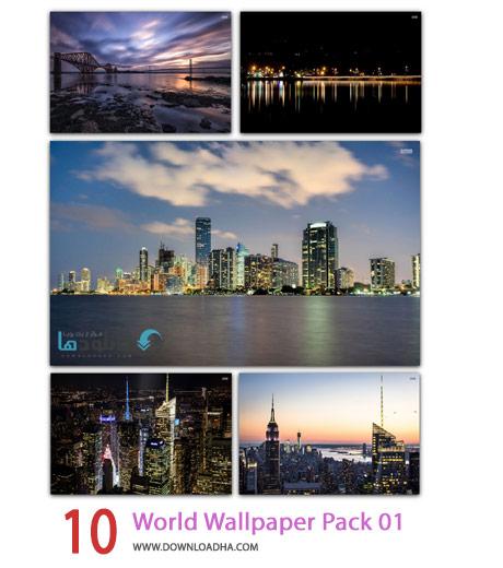 10 World Wallpaper Pack 01 Cover%28Downloadha.com%29 دانلود مجموعه 10 والپیپر از شهرهای زیبا