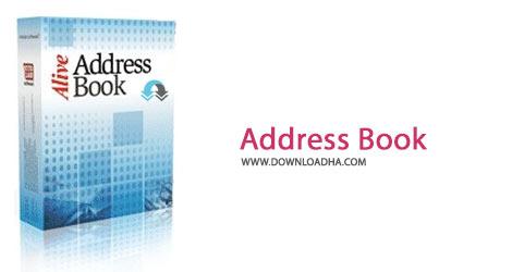 Address Book Cover%28Downloadha.com%29 دانلود نرم افزار دفترچه کامل از اطلاعات Efficient Address Book v5.0 Build 505