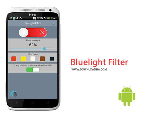 Bluelight Filter Cover%28Downloadha.com%29 دانلود نرم افزار کاهش خستگی چشم Bluelight Filter v1.1.6 برای اندروید