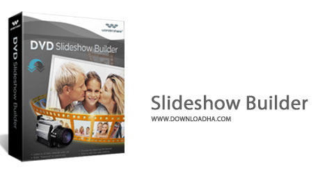 DVD Slideshow Builder Cover%28Downloadha.com%29 دانلود نرم افزار ساخت آلبوم دیجیتال Wondershare DVD Slideshow Builder Deluxe v6.5.1.1