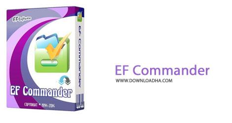 EF Cammander Cover%28Downloadha.com%29 دانلود نرم افزار مدیریت فایل EF Commander v10.71