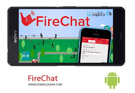 FireChat Cover%28Downloadha.com%29 دانلود نرم افزار چت آفلاین فایرچت FireChat v7.0.5 برای اندروید