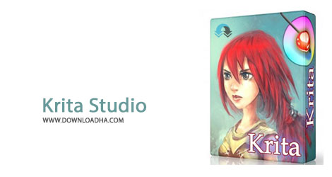 Krita Studio Cover%28Downloadha.com%29 دانلود نرم افزار ویرایش قدرتمند تصاویر Krita Studio v2.9.6.3 x86/x64