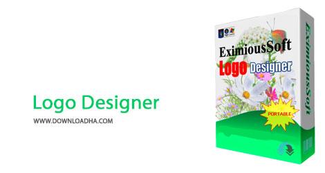 Logo Designer Cover%28Downloadha.com%29 دانلود نرم افزار طراحی لوگو EximiousSoft Logo Designer v3.78