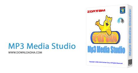 MP3 Media Studio Cover%28Downloadha.com%29 دانلود نرم افزار مدیریت فایل های Mp3 Zortam Mp3 Media Studio v19.55