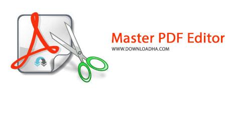 Master PDF Editor Cover%28Downloadha.com%29 دانلود نرم افزار مشاهده و ویرایش فایل های پی دی اف Master PDF Editor v3.3.00