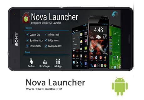 Nova Launcher Cover%28Downloadha.com%29 دانلود لانچر نووا Nova Launcher v4.0.2 برای اندروید