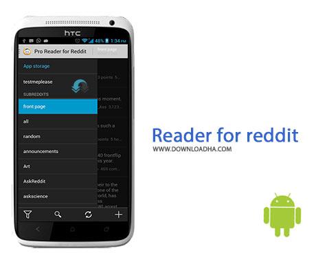 Reader for reddit Cover%28Downloadha.com%29 دانلود نرم افزار اخبار روز جهان Reader for reddit v1.3.3 برای اندروید