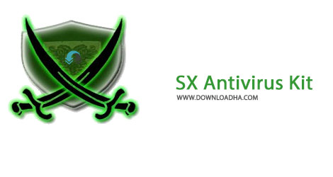SX Antivirus Kit Cover%28Downloadha.com%29 دانلود آنتی ویروس رایگان SX Antivirus Kit v3.0