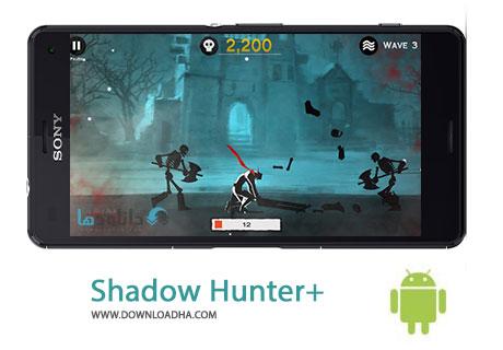 Shadow Hunter %2b Cover%28Downloadha.com%29 دانلود بازی اکشن و زیبای شکارچی سایه Shadow Hunter+ v3.2 برای اندروید