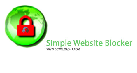 Simple Website Blocker Cover%28Downloadha.com%29 دانلود نرم افزار بلاک وبسایت ها Simple Website Blocker v3.0
