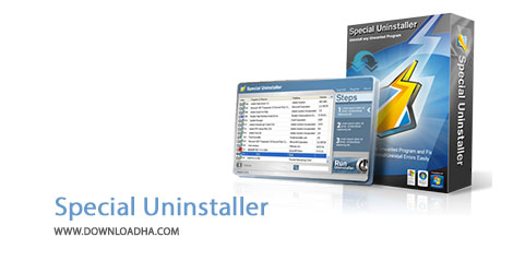 Special Uninstaller Cover%28Downloadha.com%29 دانلود نرم افزار حذف کامل برنامه های کامپیوتر Special Uninstaller v3.6.0.1166