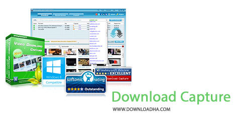 Video Download Capture Cover%28Downloadha.com%29 دانلود نرم افزار دانلود ویدئوهای آنلاین Apowersoft Video Download Capture v5.0.7
