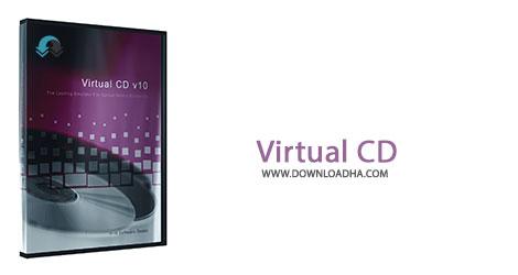 Virtual Cd Cover%28Downloadha.com%29 دانلود نرم افزار ساخت درایو مجازی Virtual CD v10.7.0.0
