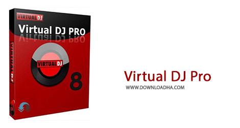 Virtual DJ Pro Cover%28Downloadha.com%29 دانلود نرم افزار میکس حرفه ای موزیک Atomix VirtualDJ Pro Infinity v8.0.2378