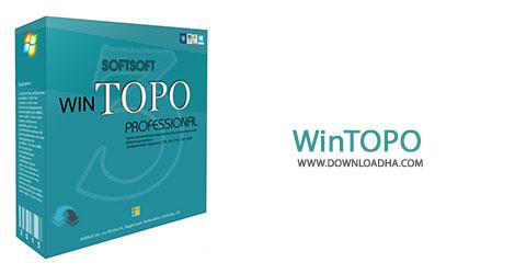 WinTOPO Cover%28Downloadha.com%29 دانلود نرم افزار تبدیل تصاویر پیکسلی به وکتوری WinTOPO Pro v3.6.0.0