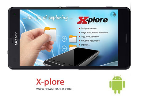X plor Cover%28Downloadha.com%29 دانلود فایل منیجر X plore File Manager 3.87.01   اندروید