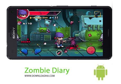 دانلود بازی اکشن خاطرات زامبی Zombie Diary v1.2.4 برای اندروید