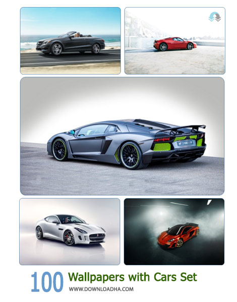 100 Wallpapers with Cars Set Cover%28Downloadha.com%29 دانلود مجموعه 100 والپیپر ماشین با کیفیت عالی