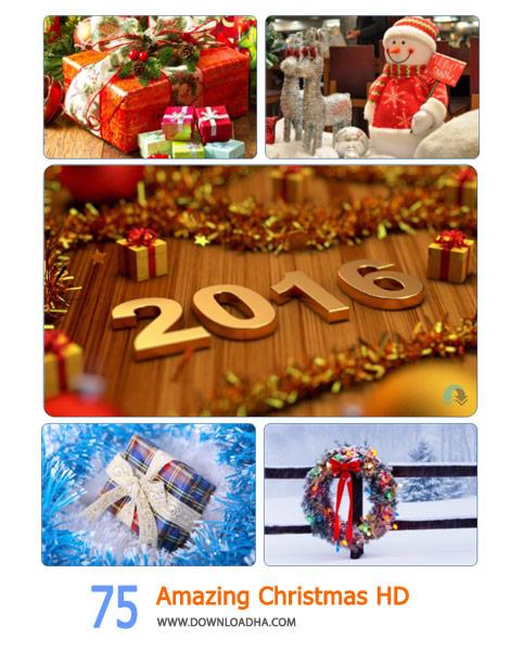 75 Amazing Christmas HD Wallpapers Cover(Downloadha.com) دانلود مجموعه 75 والپیپر کریسمس با کیفیت HD