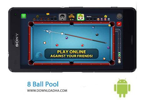 8 Ball Pool Cover%28Downloadha.com%29 دانلود بازی زیبای بیلیارد 8 Ball Pool 3.5.1 برای اندروید