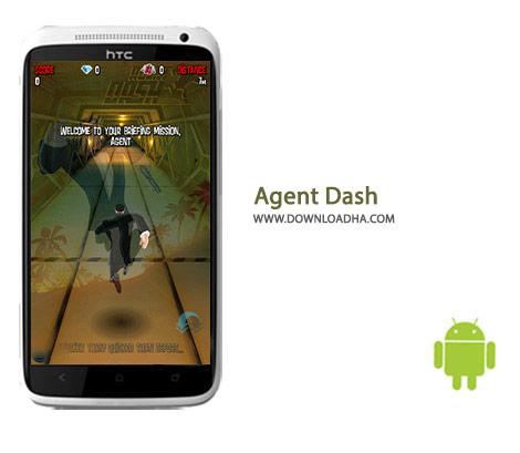 Agent Dash Cover%28Downloadha.com%29 دانلود بازی اکشن مامور دش Agent Dash 4.3.0.260 برای اندروید