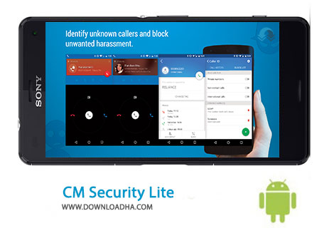 CM Security Lite Cover(Downloadha.com) دانلود نرم افزار امنیتی CM Security 2.11.2   اندروید