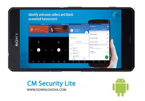 CM Security Lite Cover(Downloadha.com) دانلود نرم افزار امنیتی CM Security 3.1.1   اندروید
