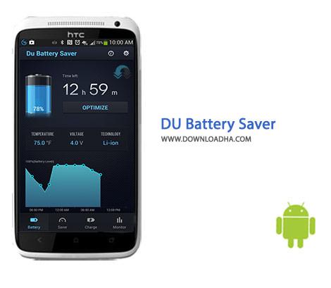 DU Battery Saver Cover(Downloadha.com) دانلود نرم افزار مدیریت مصرف باتری DU Battery Saver 4.2.7.1   اندروید