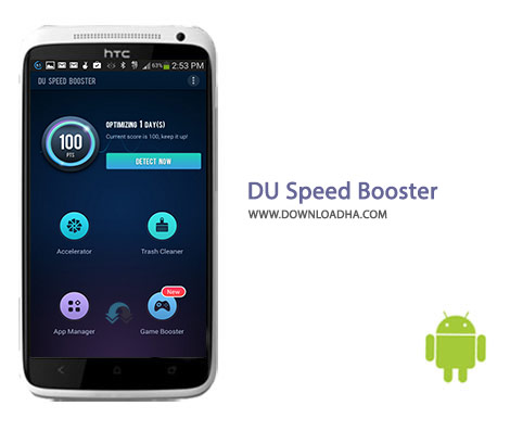 DU Speed Booster Cover%28Downloadha.com%29 دانلود نرم افزار بهینه سازی DU Speed Booster 2.9.9.2.2   اندروید