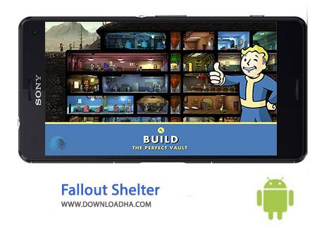 Fallout Shelter Cover%28Downloadha.com%29 دانلود بازی پناهگاه رادیواکتیو Fallout Shelter 1.7.1   اندروید