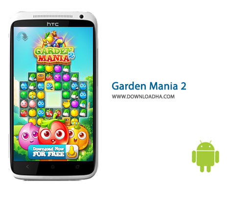Garden Mania 2 Cover%28Downloadha.com%29 دانلود بازی پازل و زراعتی Garden Mania 2 1.10.7   اندروید