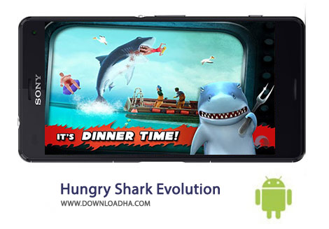 کاور-Hungry-Shark-Evolution