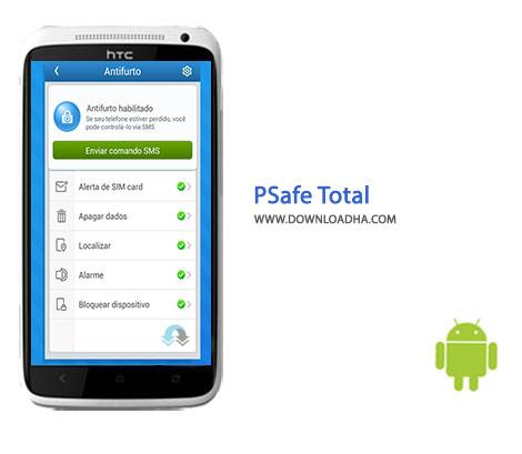 PSafe Total Cover(Downloadha.com) دانلود نرم افزار بهینه سازی گوشی Psafe Total 3.6.3   اندروید