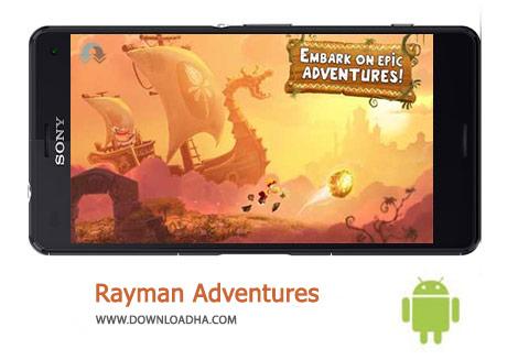 Rayman Adventures Cover%28Downloadha.com%29 دانلود بازی ماجراهای ریمن Rayman Adventures 1.5.0   اندروید