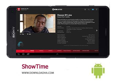 ShowTime Cover(Downloadha.com) دانلود برنامه رسمی شبکه شوتایم SHOWTIME 1.1 برای اندروید