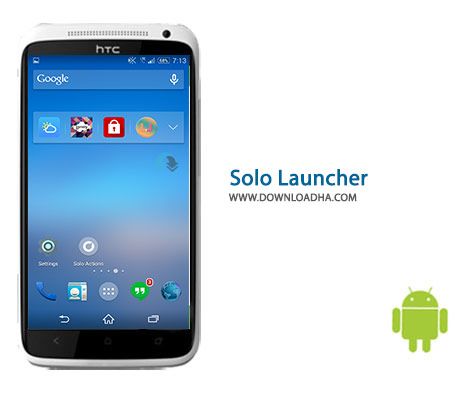 Solo Launcher Cover%28Downloadha.com%29 دانلود لانچر سولو Solo Launcher 2.6.6   اندروید